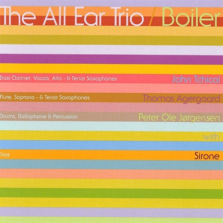 All Ear Trio - Boiler (CD)