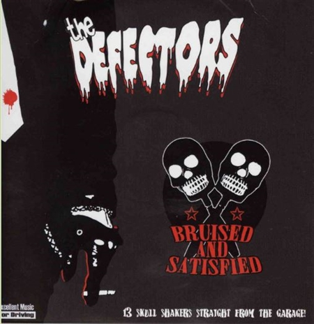 Defectors - Bruised And Satisfied (CD)