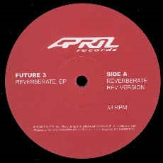 "Future 3 - Reverberate EP (12"" vinyl)"