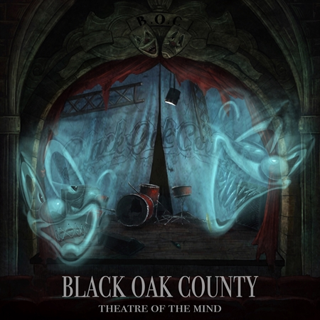 "BLACK OAK COUNTY - ""Theatre Of The Mind"" (CD)"