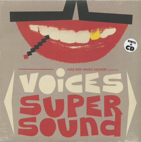 Various Artists - Voices Super Sound (LP+CD)
