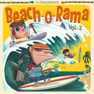 Various Artists - Beach-O-Rama Vol. 2 (LP+CD)