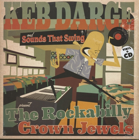 Keb Darge and Sound That Swing Present. - The Rockabilly Crown Jewels (LP+CD)