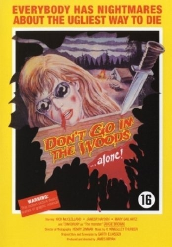 Don\'t Go In The Woods (DVD) (Uden Dansk Tekst)