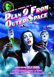 Plan 9 From Outer Space (Norsk cover) (DVD)
