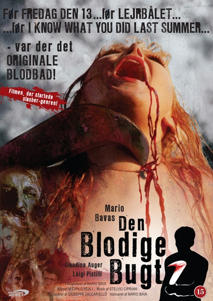 A Bay of Blood (Norsk cover) (DVD)