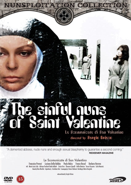 The Sinful Nuns of Saint Valentine (Norsk cover) (DVD)